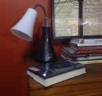 The all important reading lamp