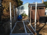 Chicken coop progress