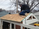 The coop gets a roof