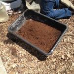 Scientific dirt mixing