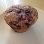 Honeyberry muffin of deliciousness