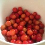 A bowl full of cherries